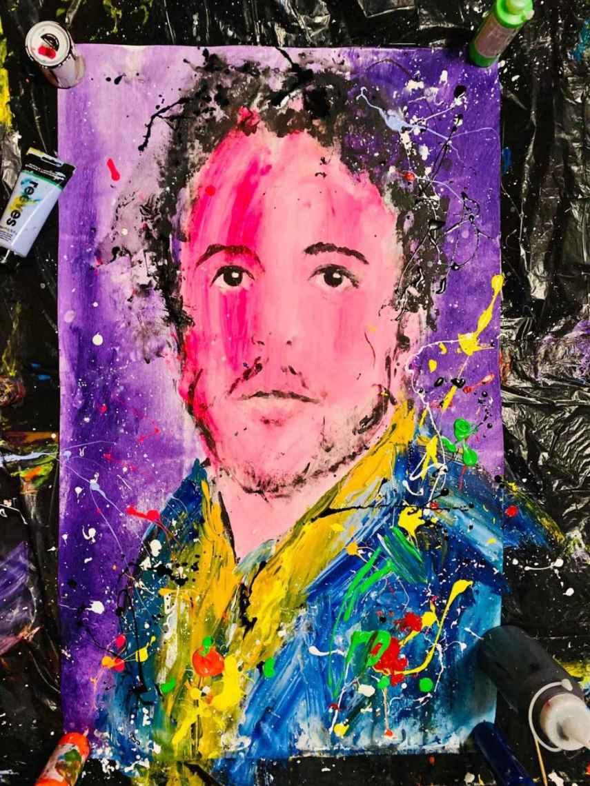 Álex Lequio retratado por David Partida.