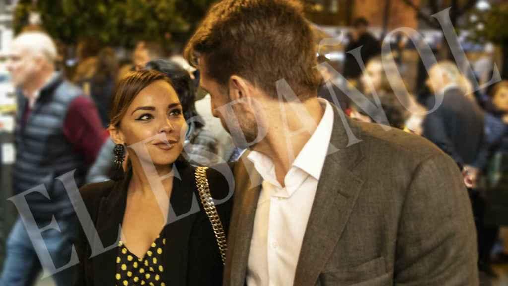 Chenoa y Miguel en su primera aparición pública como pareja.