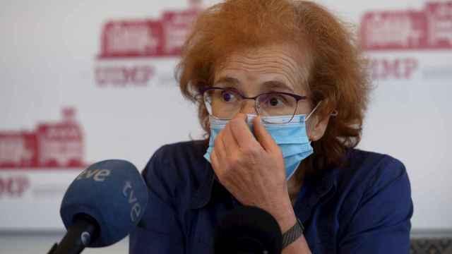 La viróloga Margarita del Val. EFE/Pedro Puente Hoyos