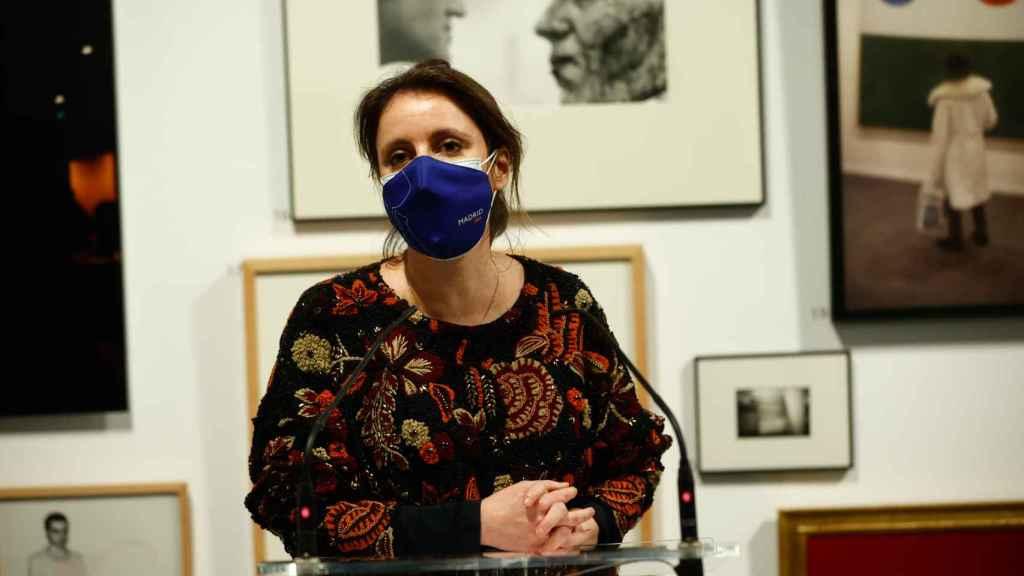 La concejal de Cultura del Ayuntamiento de Madrid, Andrea Levy.