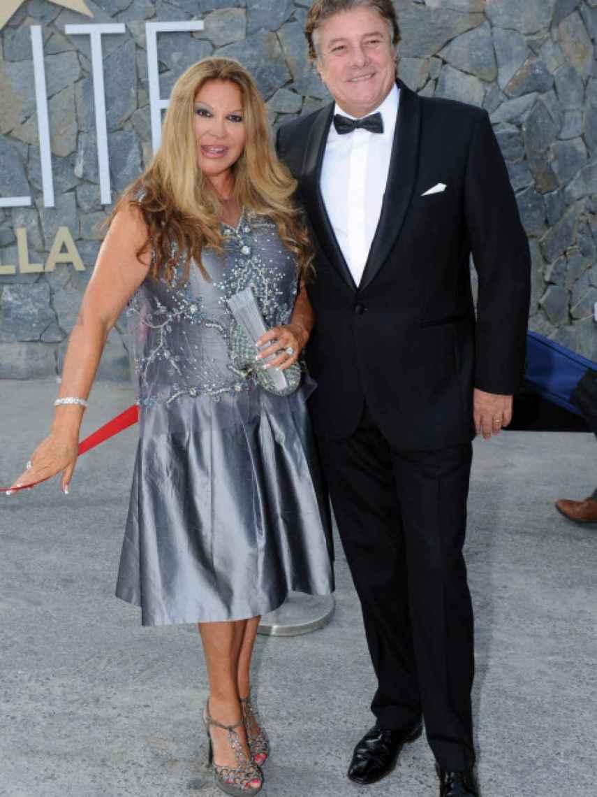 Francisco y su mujer, Paca, en la gala Starlite 2015.