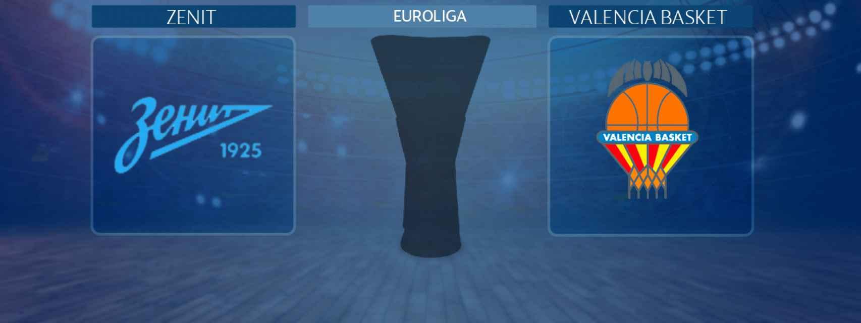Zenit - Valencia Basket, partido de la Euroliga