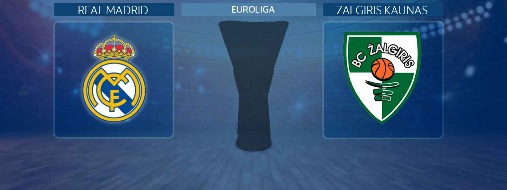 Real Madrid - Zalgiris Kaunasm partido de la Euroliga