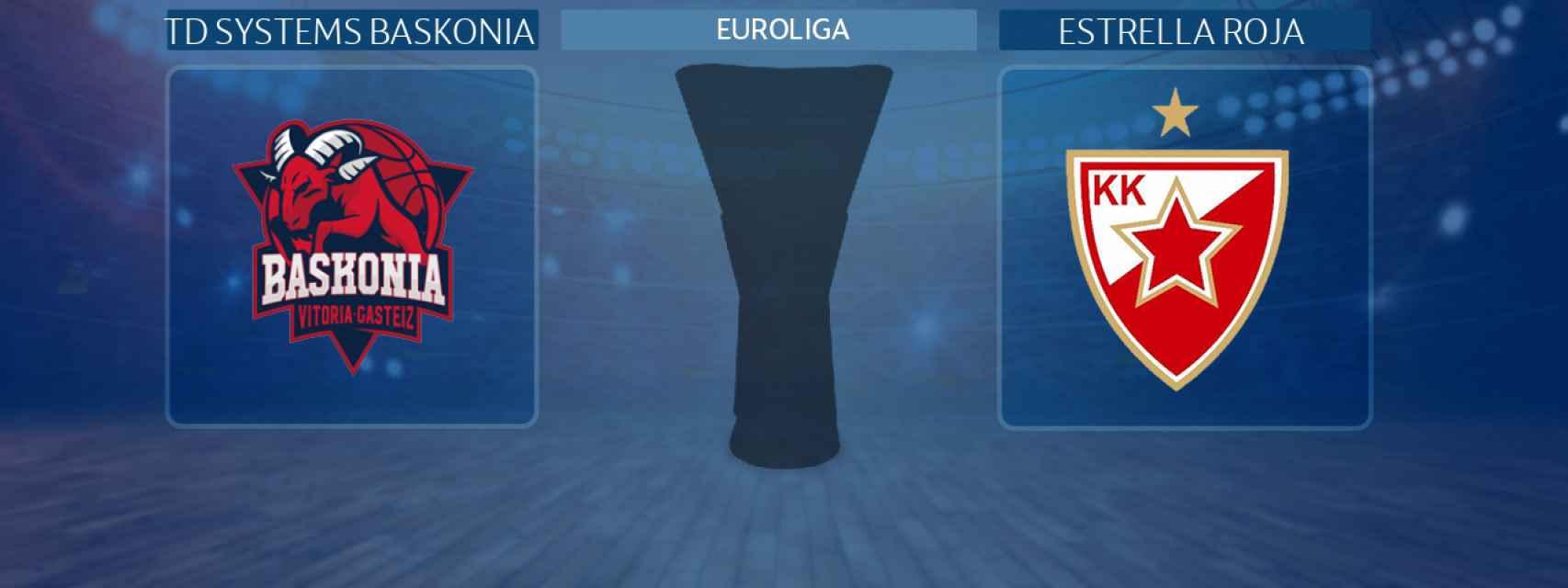 TD Systems Baskonia - Estrella Roja, partido de la Euroliga