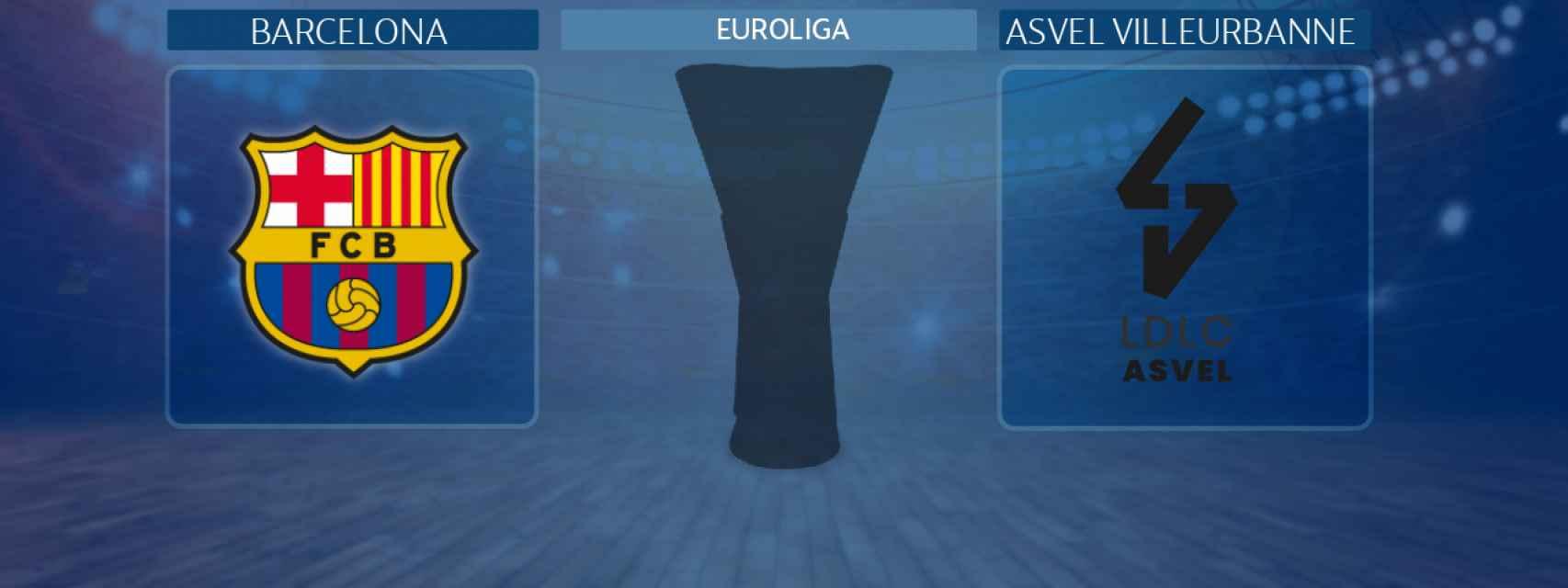 Barcelona - Asvel Villeurbanne,   partido de la Euroliga