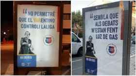 Los polémicos carteles de Toni Freixa