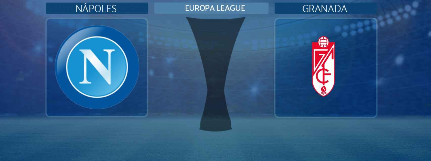 Nápoles - Granada, partido de la Europa League