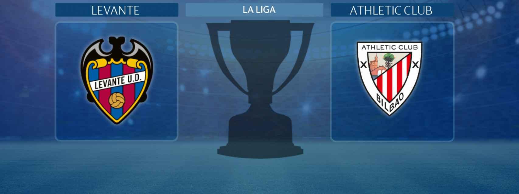 Levante - Athletic Club, partido de La Liga
