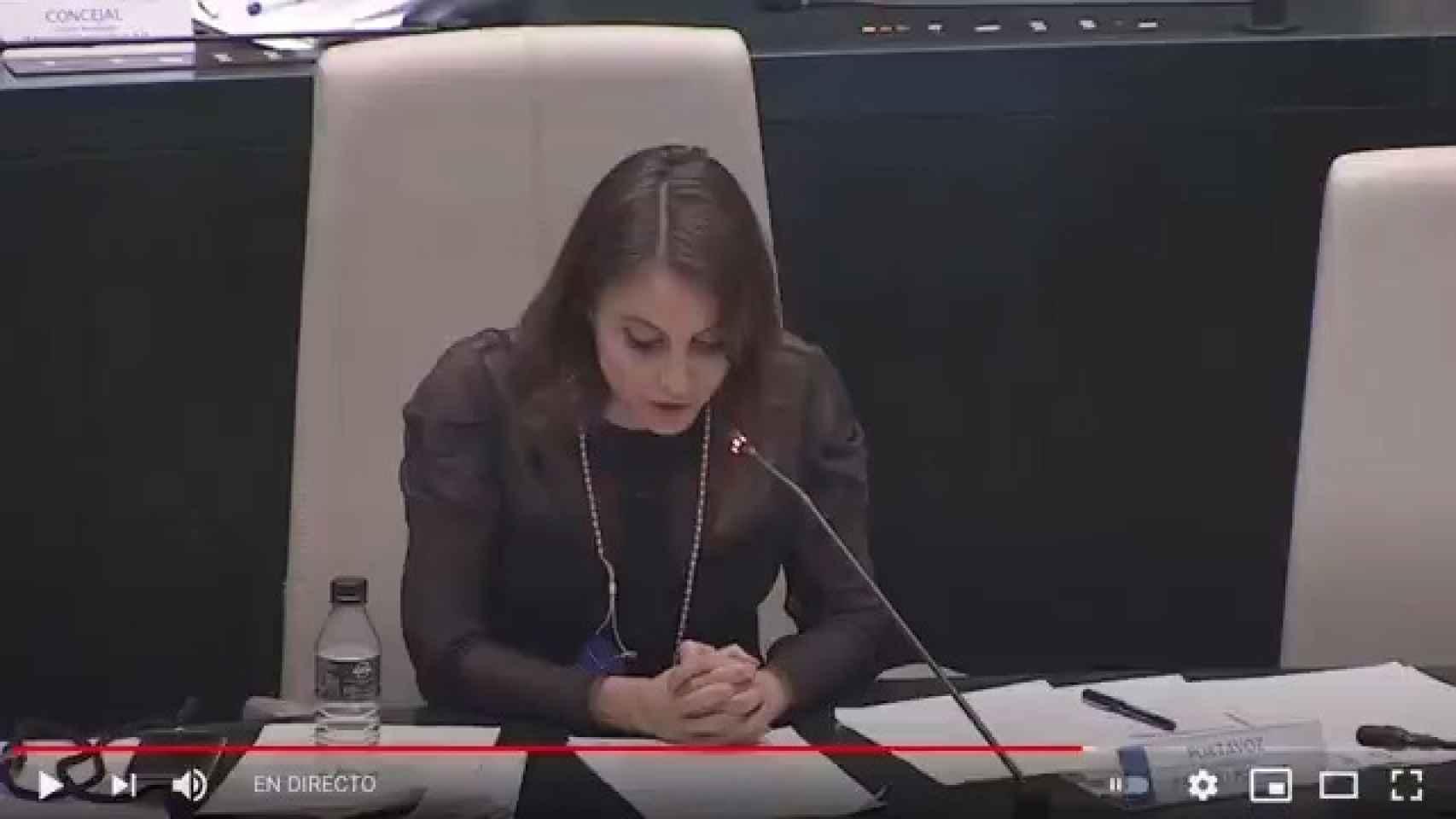 El viral discurso de Andrea Levy en el Ayuntamiento de Madrid