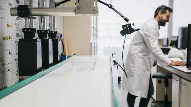 Imagen del trabajo con tecnología de termosellado en AINIA