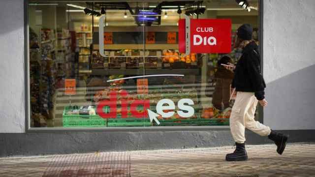 Imagen exterior de un supermercado Dia.