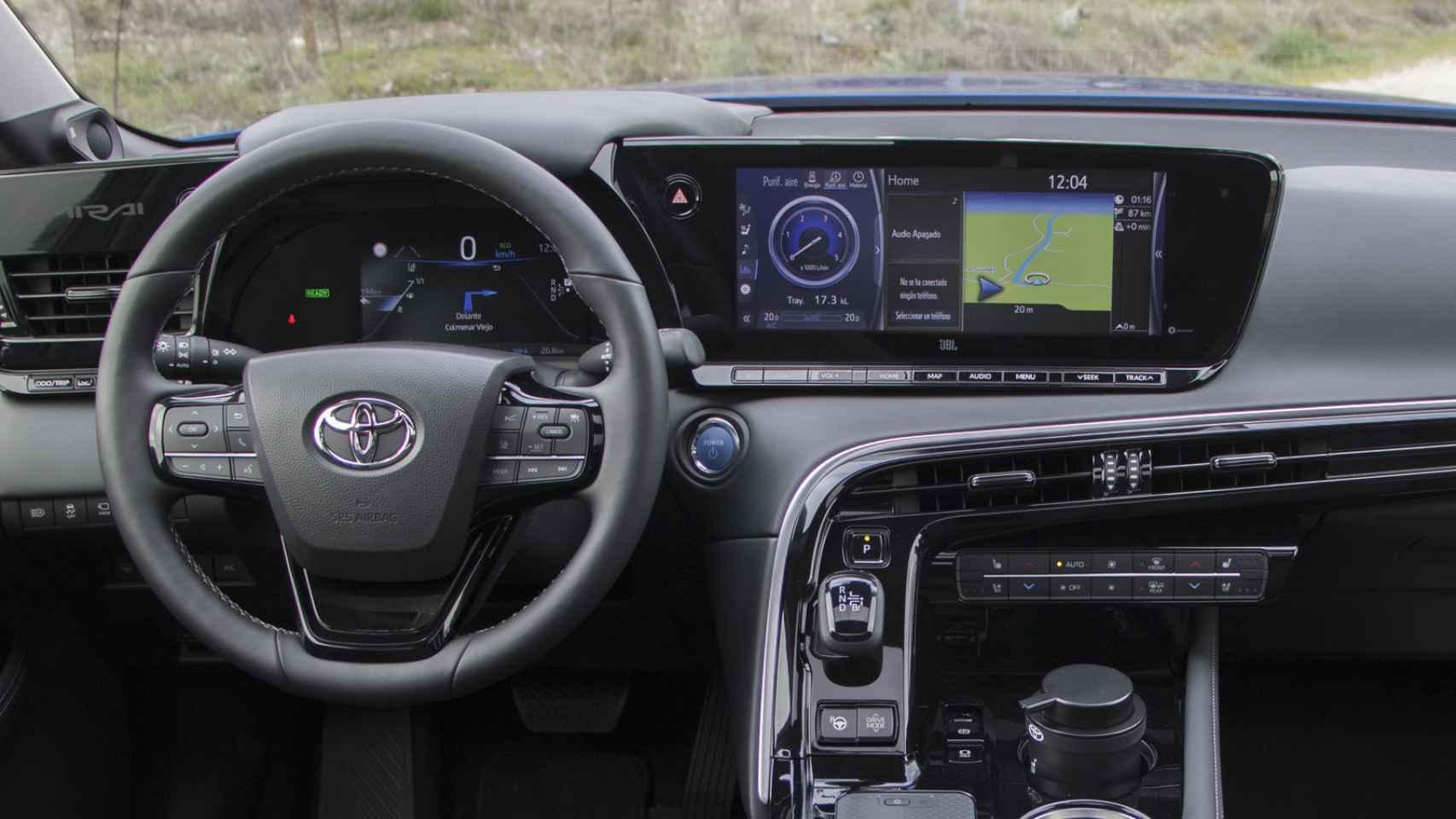 Todas las fotos del nuevo Toyota Mirai, el nuevo coche de hidrógeno de la marca japonesa