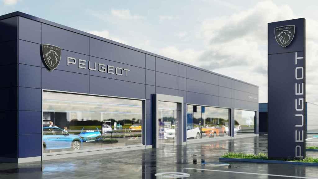 Así será la nueva imagen de los concesionarios de Peugeot.