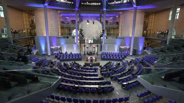 Hemiciclo del Bundestag.