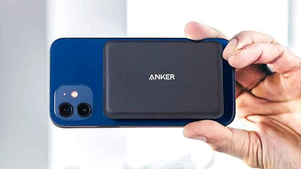 La batería externa de Anker para el iPhone