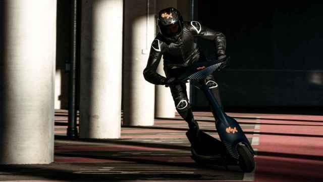 El patinete eléctrico de competición de eSkootr
