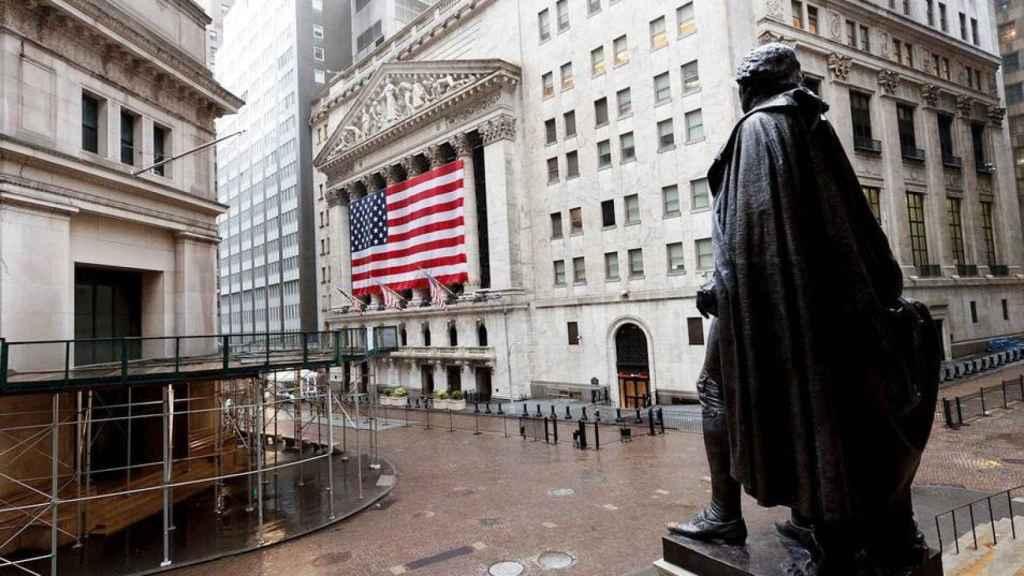 Wall Street, en Nueva York.