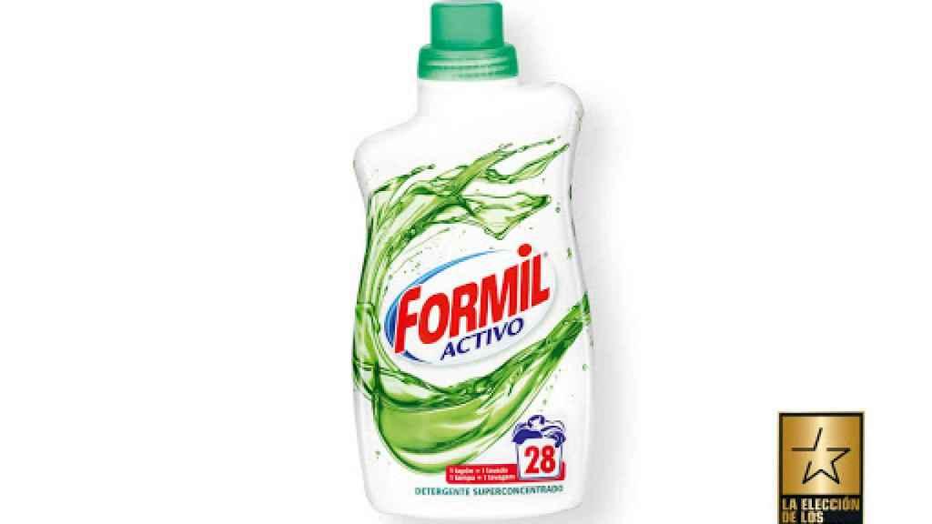 Detergente superconcentrado de Formil, la marca blanca de Lidl.