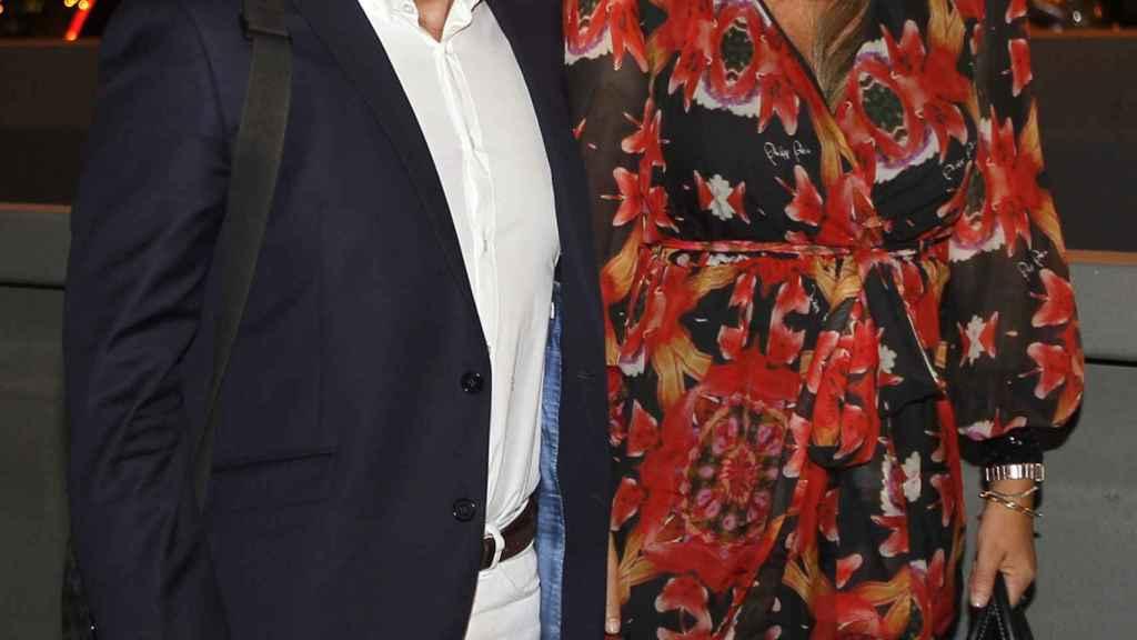 Jorge Javier y Belén Esteban en una imagen de archivo tomada en 2015.