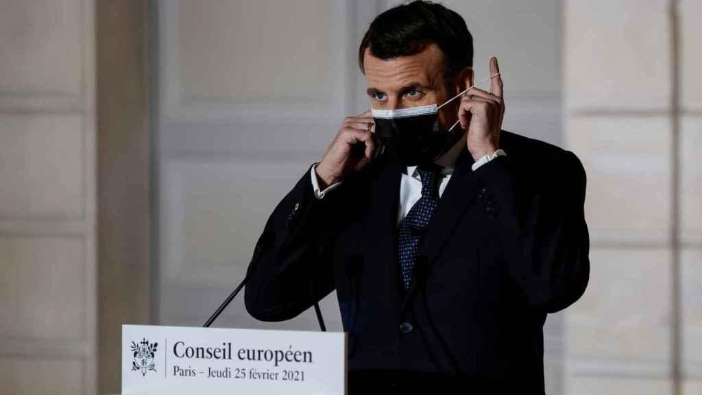 El presidente francés, Emmanuel Macron, es el gran defensor de la autonomía estratégica de la UE