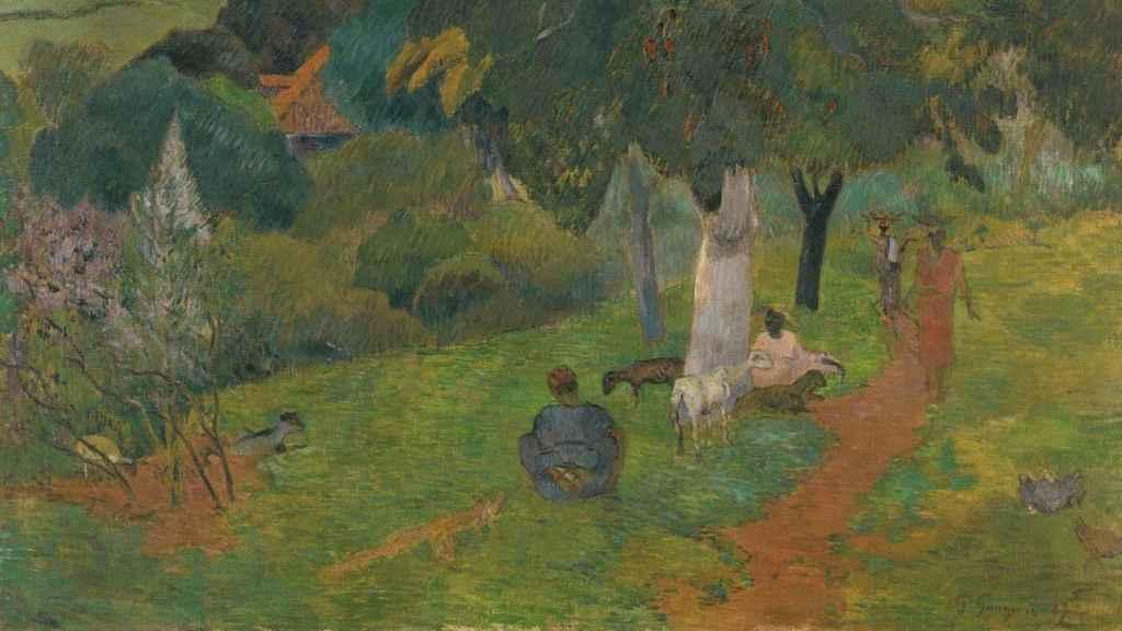 Idas y venidas. Martinica. Paul Gauguin.