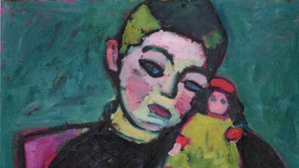 El niño con muñeca, de Alexéi von Jawlensky.