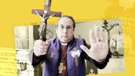 El Padre Manuel Acuña, exorcista.