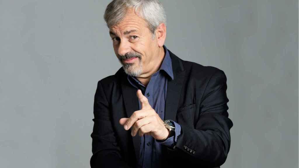Carlos Sobera, un presentador y actor muy reconocido en España.