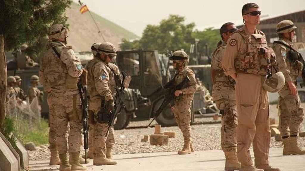 Operaciones en Afganistán.