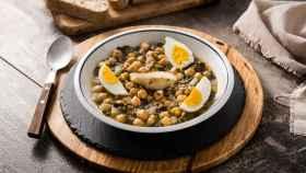 Muchas recetas se basan en legumbres.