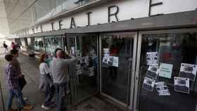 Alumnos, exalumnos y profesionales de las artes escénicas se han manifestado esta semana por el escándalo del Institut del Teatre.