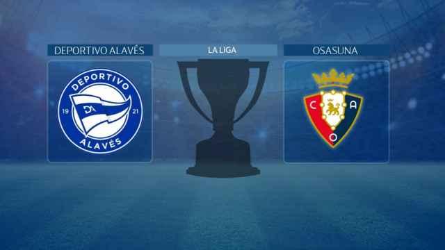 Deportivo Alavés - Osasuna, partido de La Liga