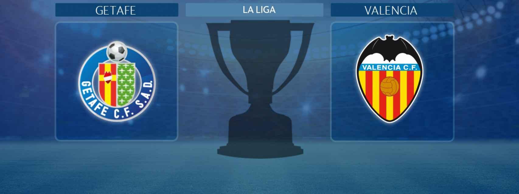Getafe - Valencia, partido de La Liga