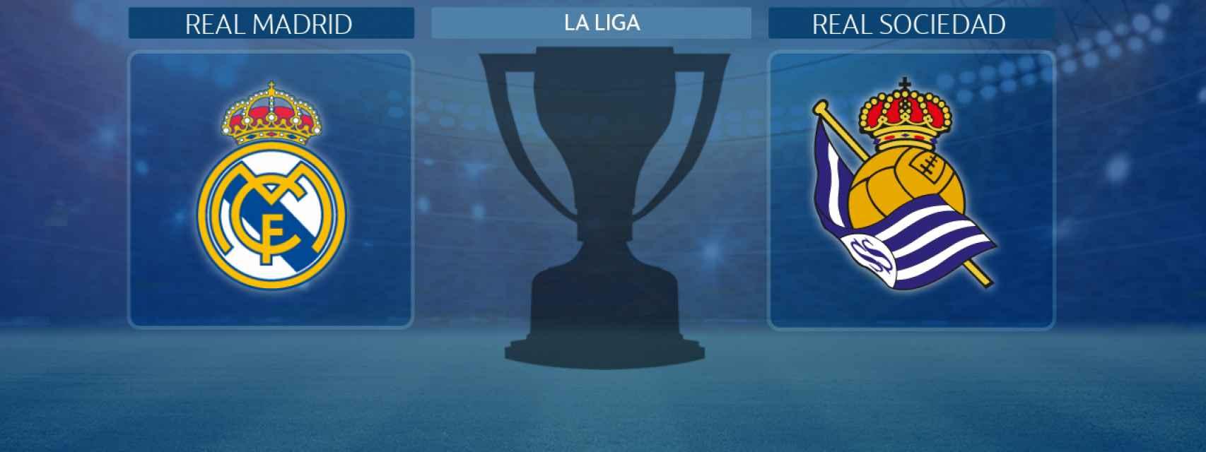 Real Madrid - Real Sociedad, partido de La Liga