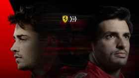 Imagen corporativa del equipo Ferrari