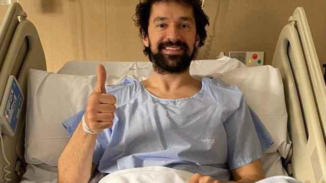Llull, en el hospital tras ser operado de la rodilla