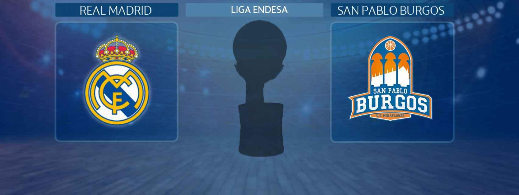 Real Madrid - San Pablo Burgos, partido de la Liga Endesa