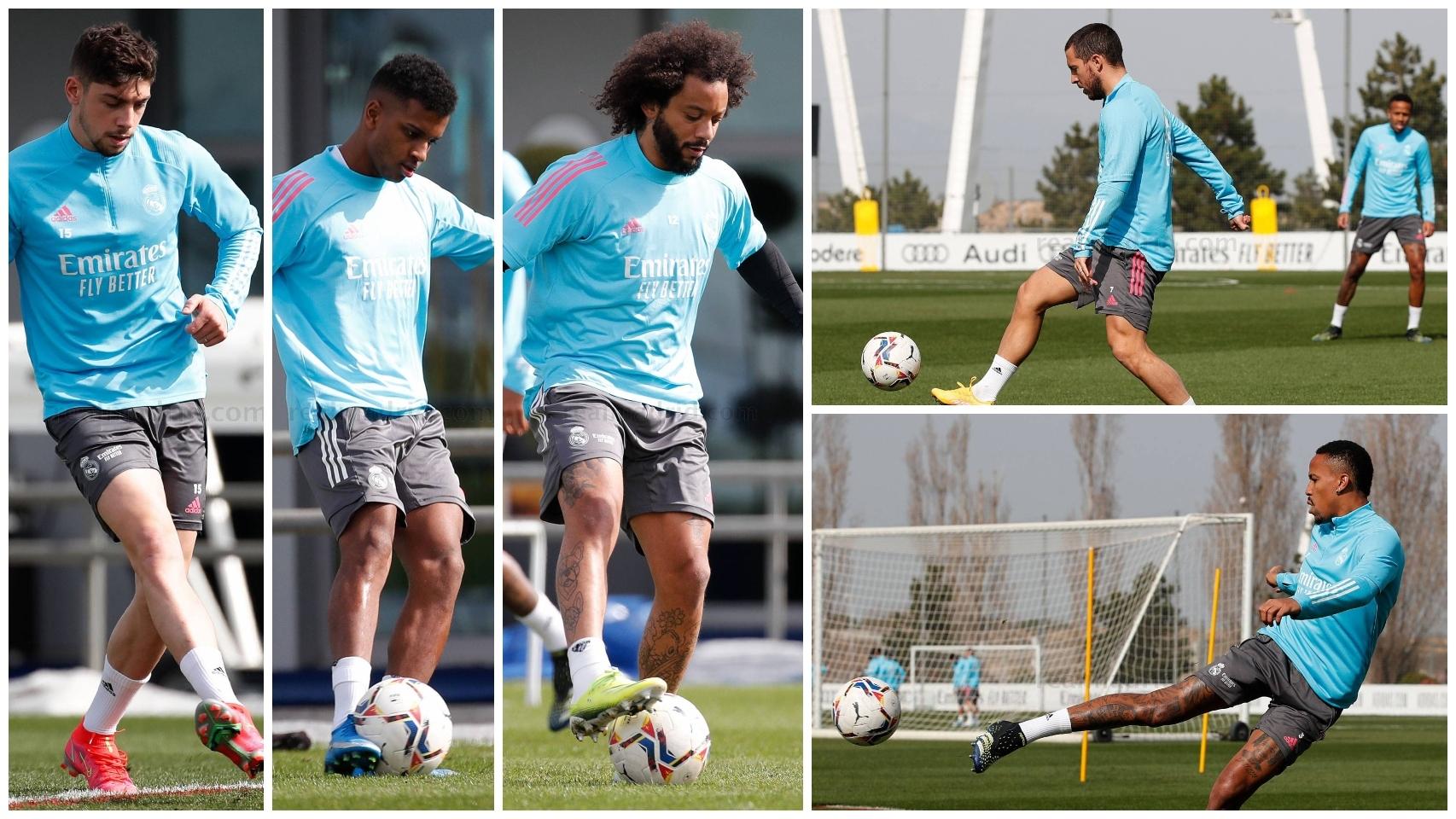 Los lesionados del Real Madrid
