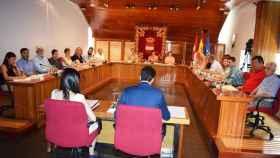 Pleno municipal del ayuntamiento de Puertollano