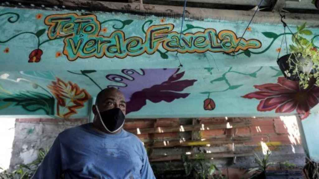 Luis Cassiano, fundador de Techo Verde Favela.