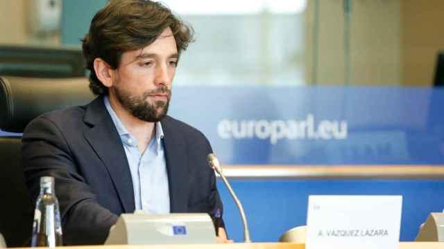 El presidente del comité de Asuntos Jurídicos y eurodiputado de Ciudadanos, Adrián Vázquez.