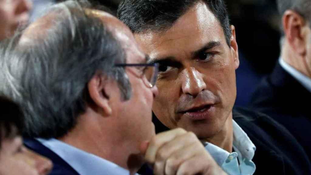 Sánchez y Gabilondo, en una imagen de archivo.