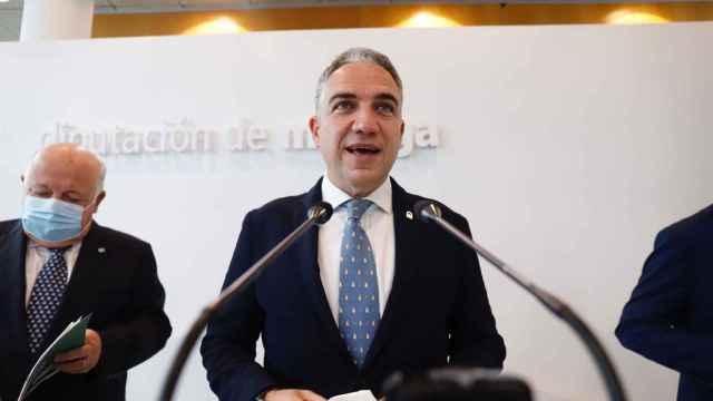 Elías Bendodo este viernes en Málaga