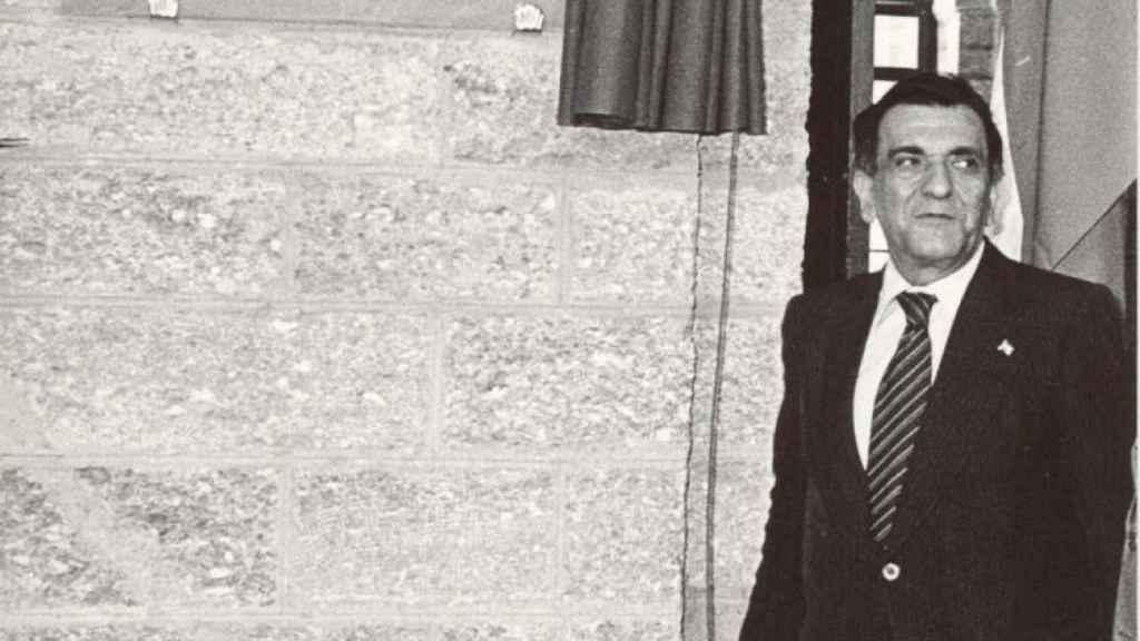 Plácido Fernández Viagas en la Diputación de Cádiz