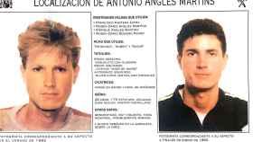 Cartel de Antonio Anglés difundido por la Interpol