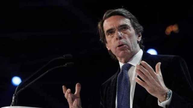 El expresidente del Gobierno, José María Aznar. Efe