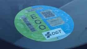 Etiqueta ECO de la DGT.
