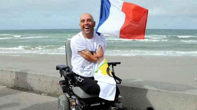 El aventurero francés Philippe Croizon.