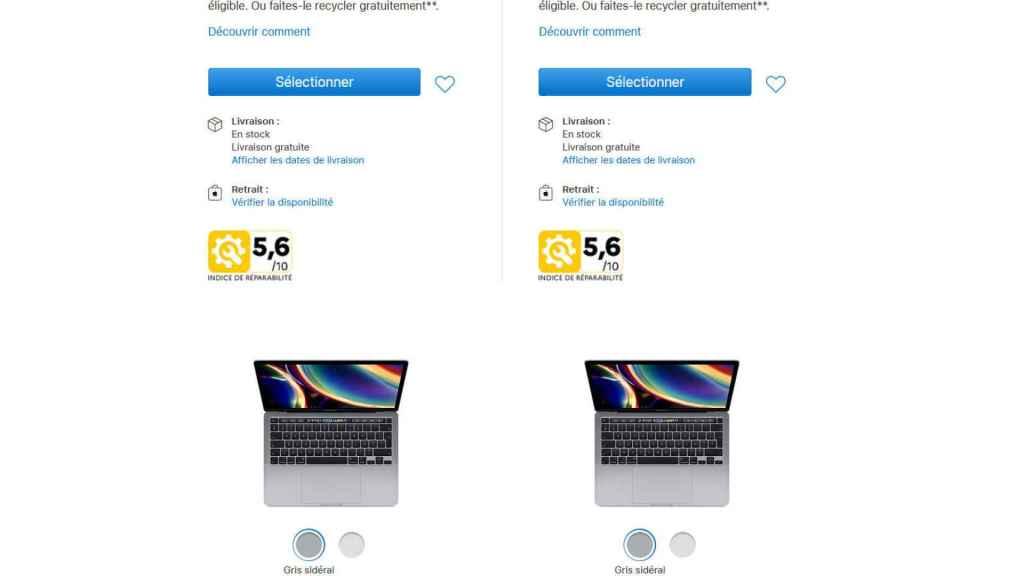 Los nuevos MacBook muestran un bajo índice de reparabilidad