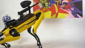 Spot Boston Dynamics arma